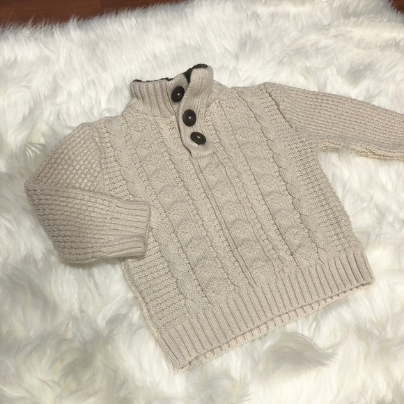 Cherokee Other - BOGO❗️ Cheroke Beige Cable Knit Sweater